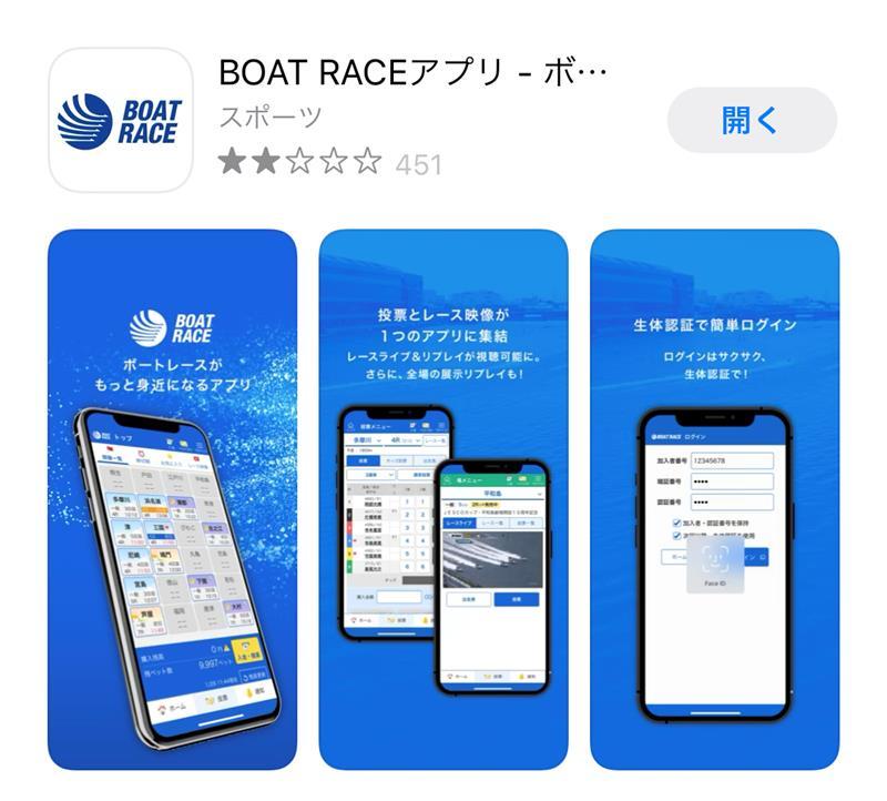 Boatraceアプリ